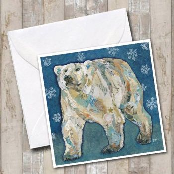 Polar Bear Blues Card
