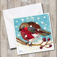 <!-- 030 -->Merry Berry Robin Card