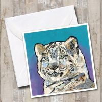 <!-- 042 -->Snow Leopard - Card