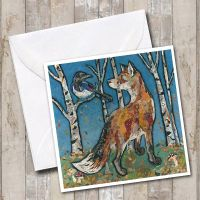 Salute Mr Magpie - Fox Card
