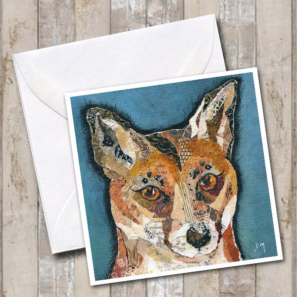 Finlay Fox Greetings Card