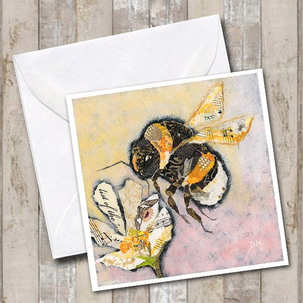 Bumble Bee Art Card
