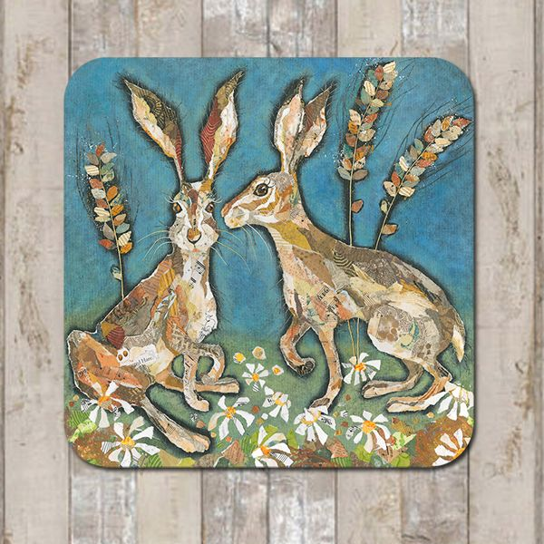 Hare Ears Coaster Tablemat Placemat