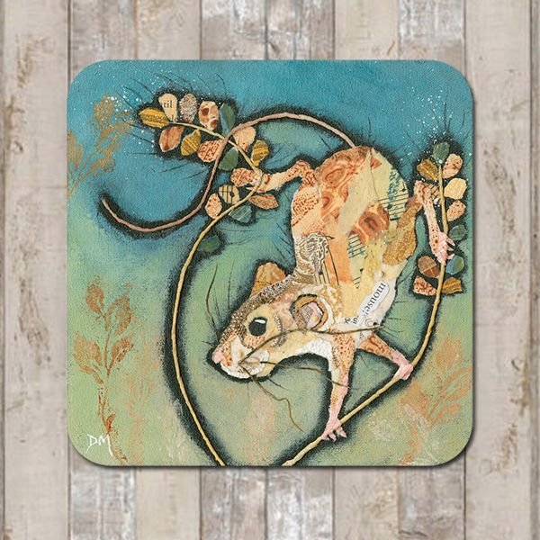 Mouse Climbing Coaster Tablemat Placemat