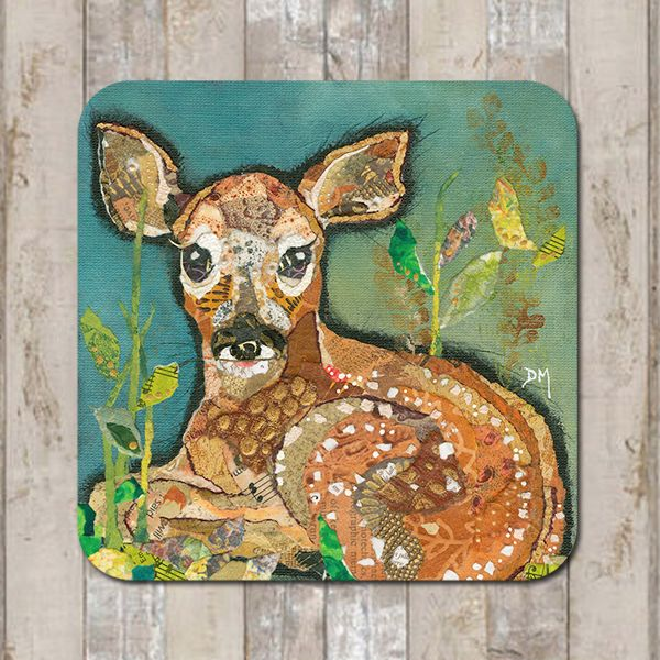 Baby Deer Fawn Coaster Tablemat Placemat