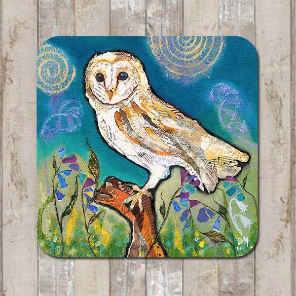 Barn Owl Coasters &  Tablemats
