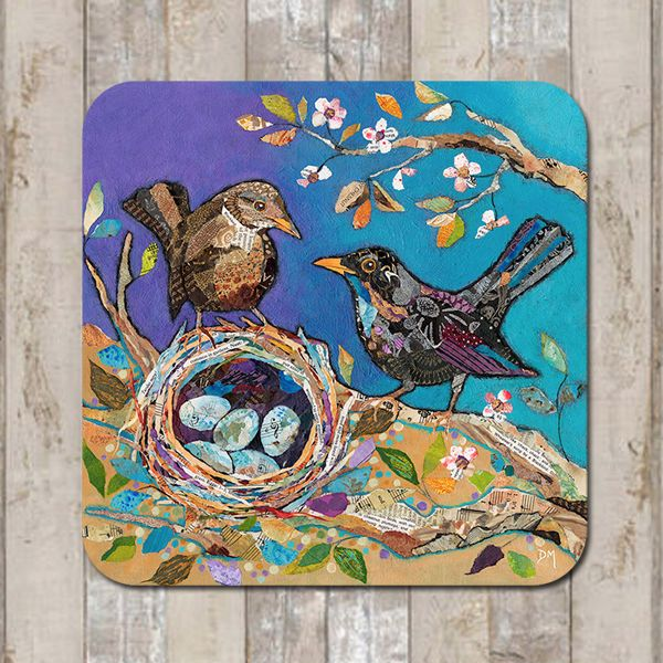 Blackbird Nest Coaster Tablemat Placemat