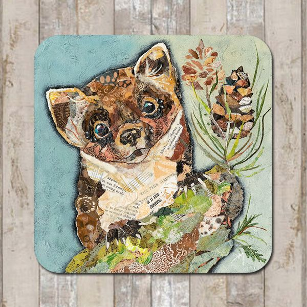 Pip Pine Marten Coaster Tablemat Placemat