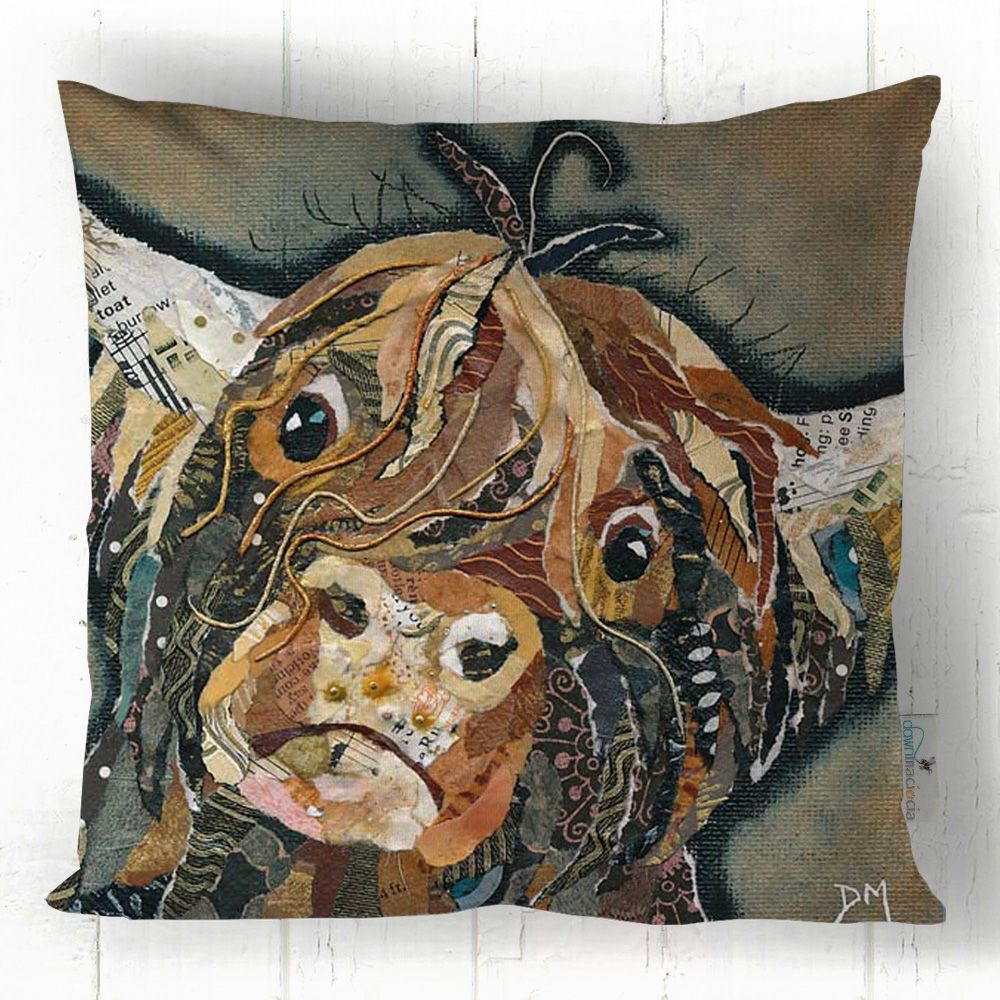 Callum Highland Cow - Art Cushion