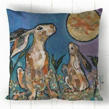 Moongazers  - Hare & Moon Cushion