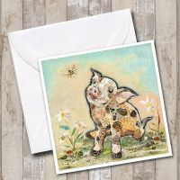 <!-- 001 -->If Pigs could Fly Card