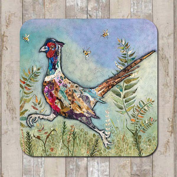 Running Pheasant Tableware Coaster Placemat