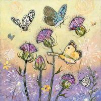 Flutterbies- Large Print