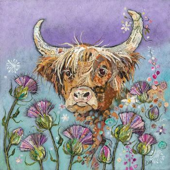 Thistle Coo- Large Print