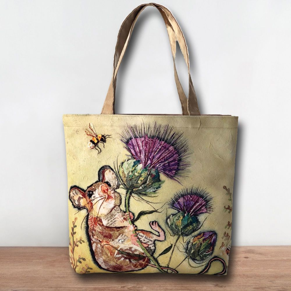 Mouse & Thistle Luxury Tote  Shopper Bag