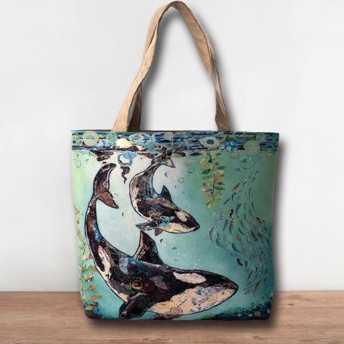 *NEW* TB333 - Dance with the Orca Tote Bag