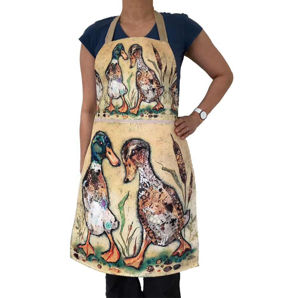 Quacker Over You Duck - Luxury Handmade Apron