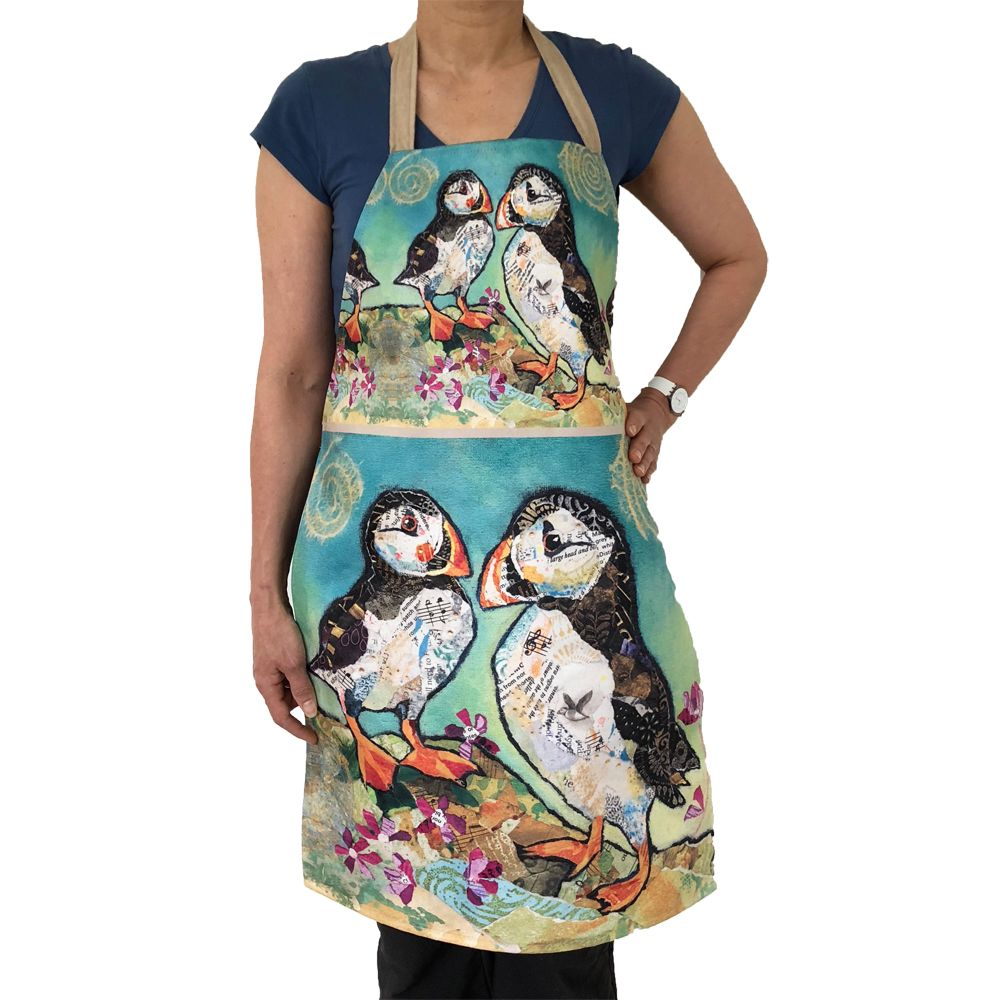 Puffin Pals - Luxury Handmade Apron