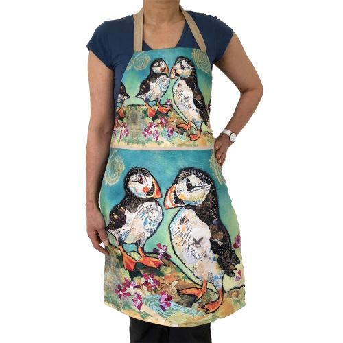 *NEW* AP273 - Puffin Pals - Plush Apron