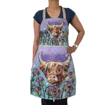 *NEW* AP344 - Thistle Coo - Plush Apron