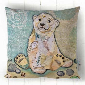 Hamish Polar Cub - Cushion