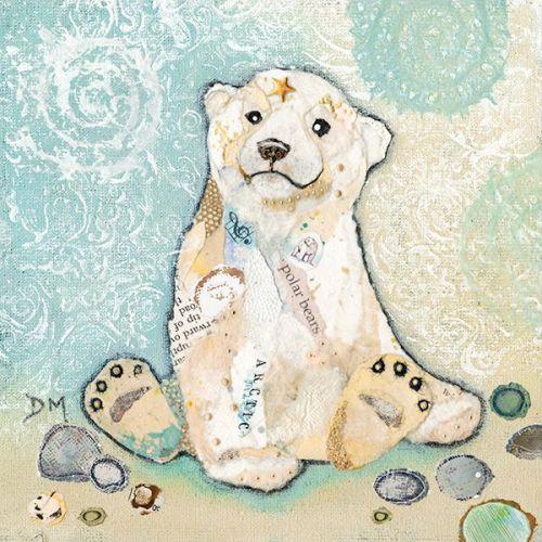 <!-- 008 -->Hamish Polar Cub - Small/Med Print
