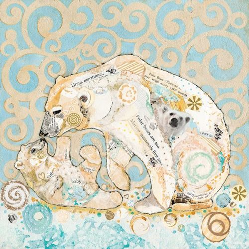 <!-- 001 -->Polar Kiss- Large Print