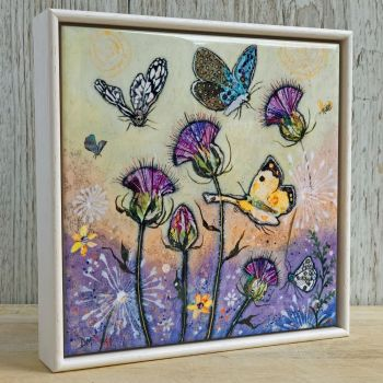 "Flutterbies - 6"" Ceramic Print"