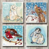 Wintery Card Collection