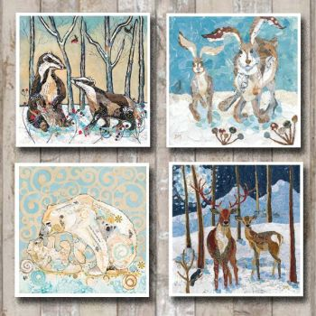 Snowy Christmas Card Collection
