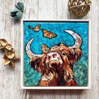 """Buttercoo - 6"""" Ceramic Print"""