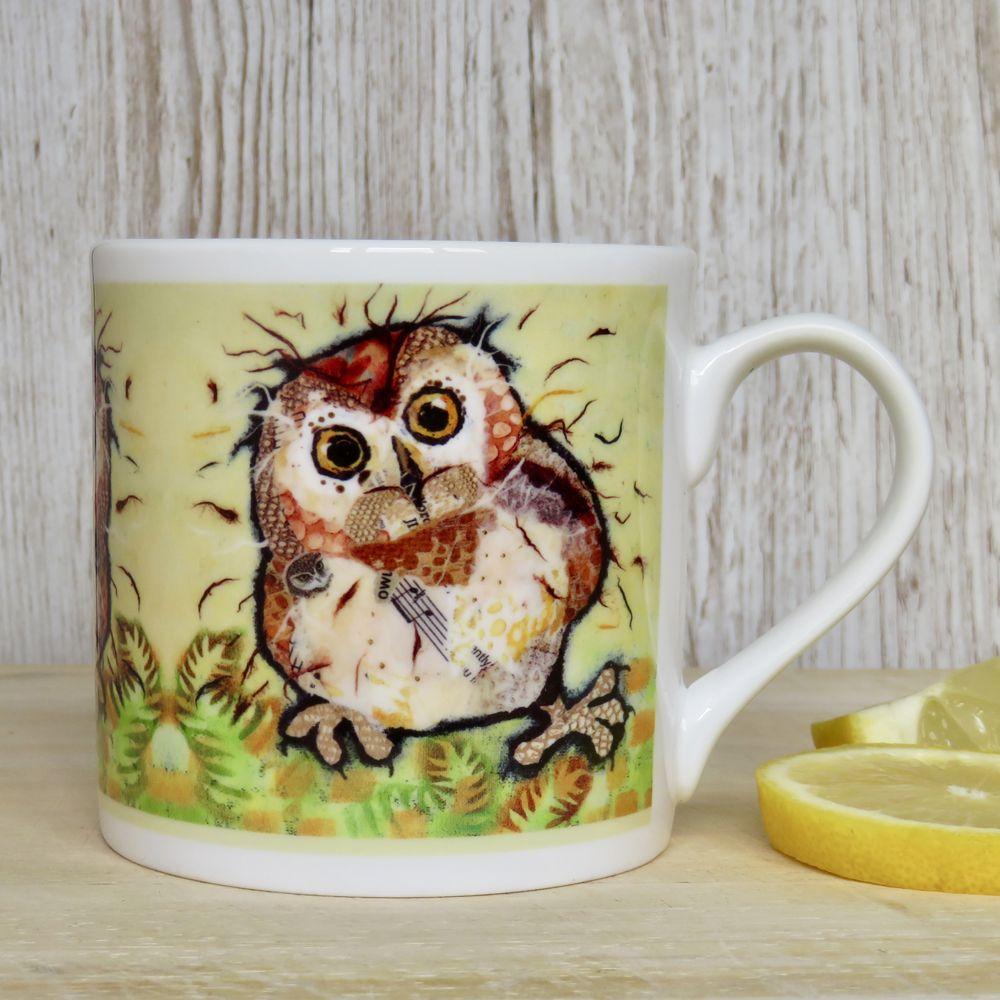 Baby Owl Fine Bone China Mug