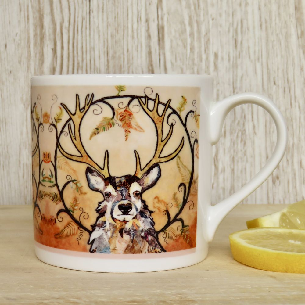 Red Deer Stag Mug