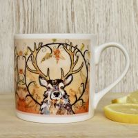 Golden Monarch Mug