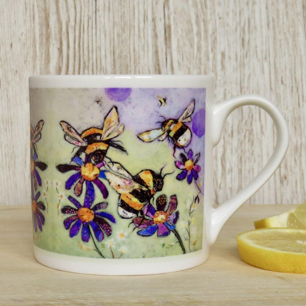 Bumble Bee Mug Fine Bone China