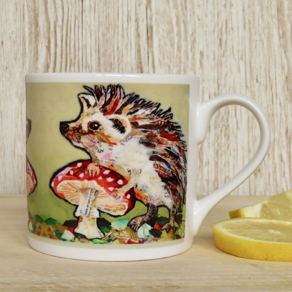 Hedgehog and Toadstool Mug