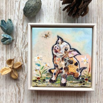 If Pigs could Fly - Mini Ceramic Tile