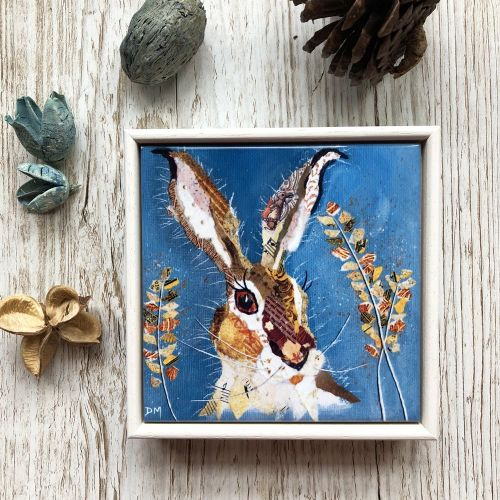 Hare & Barley - Mini Ceramic Tile