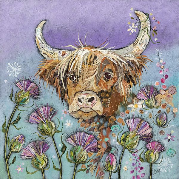 Thistle Coo - Embellished Print