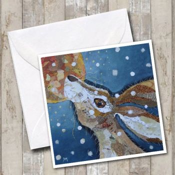 Winter Moon Hare- Card