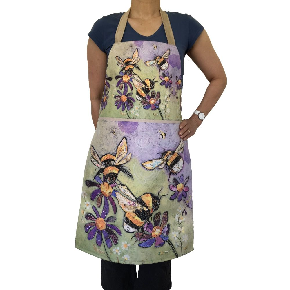 Humble Bumbles Bee - Luxury Handmade Apron