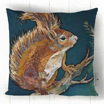 Wee Red Squirrel - Cushion