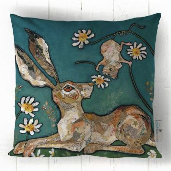 For You - Hare & Mouse Cushion