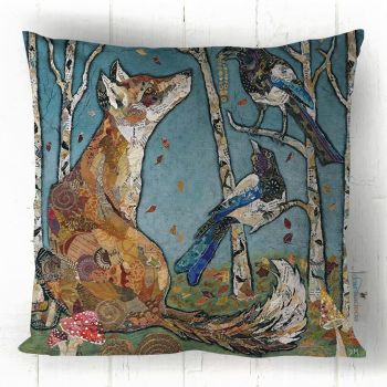 The Gift - Fox & Magpie Cushion