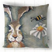 Hare & Bee - Cushion