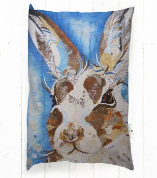 Mountain Hare - Rectangular Cushion