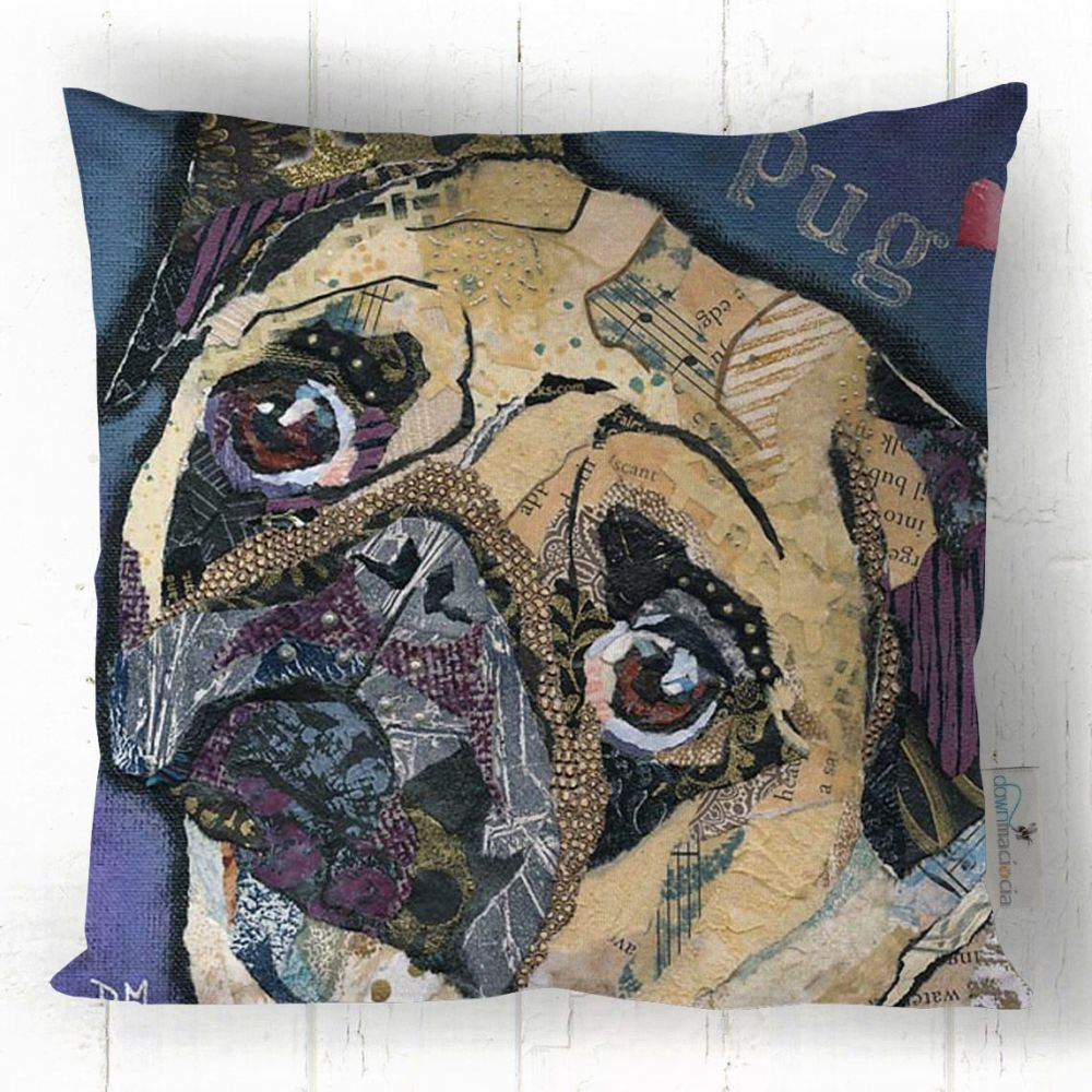 Pug Love - Cushion