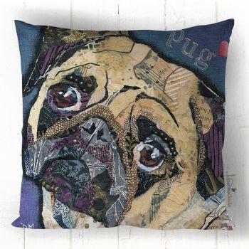 Pug Love - Cushion
