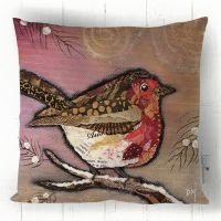 Robin on Blush - Cushion