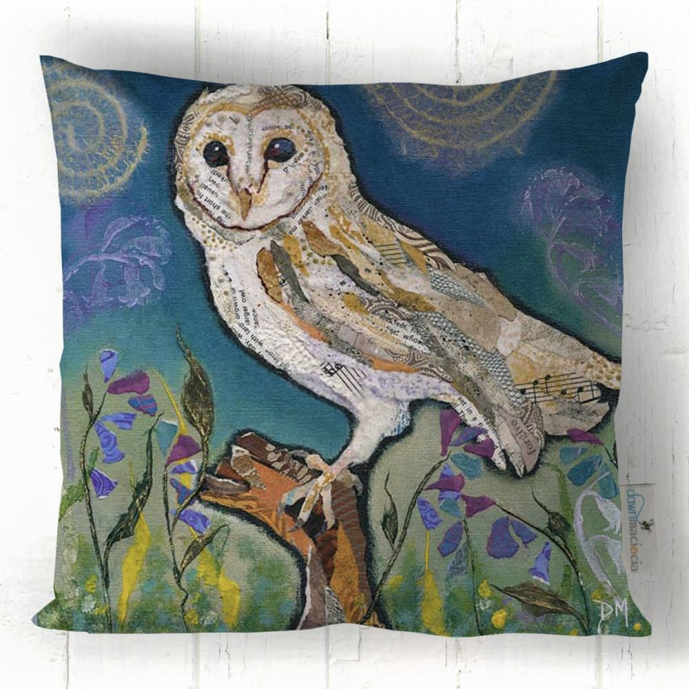 Barn Owl- Cushion